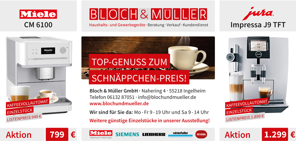 ingelheimer marktplatz miele top genuss zum schn ppchen preis. Black Bedroom Furniture Sets. Home Design Ideas